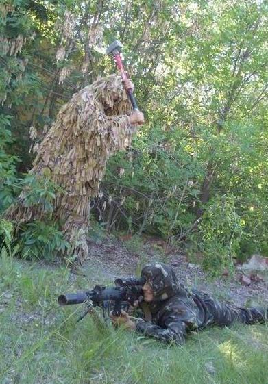 Засідка - ефективний метод боротьби зі снайперами