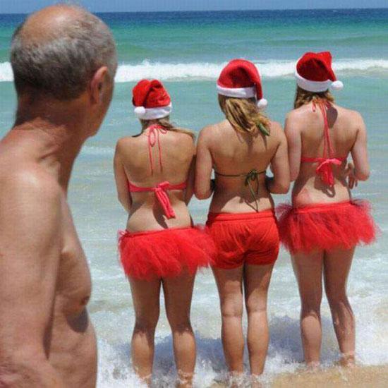 Нову партію теплостійких снегурок тестують на пляжі