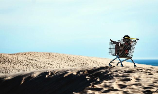 Пустеля шопінгу не перешкода