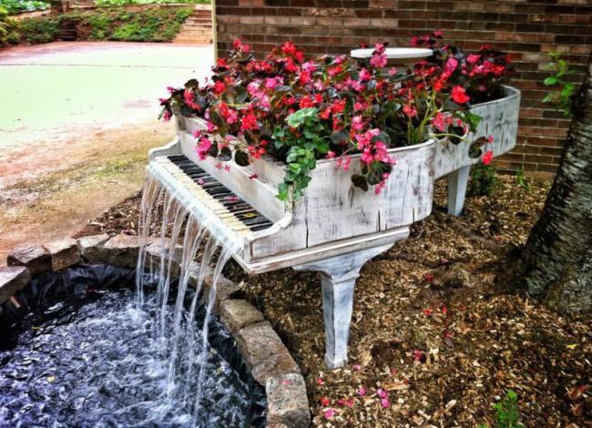 Фортепіано фонтан