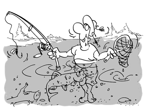 Якось по особливому сьогодні риба клює