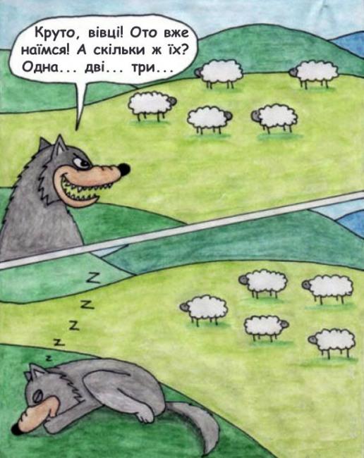 Вовк та вівці