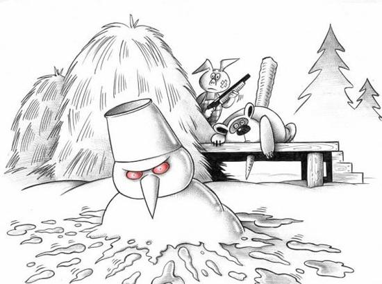 Термінатор - зимова версія