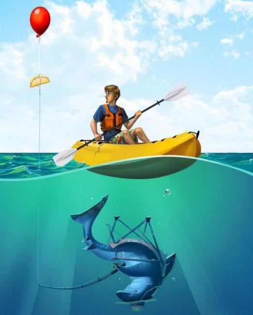 На рибалці