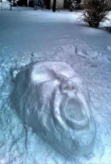 Жах зі снігу