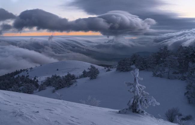 Зима у Карпатах