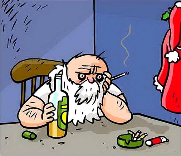 Санта отримав перелік моїх побажань на новий рік