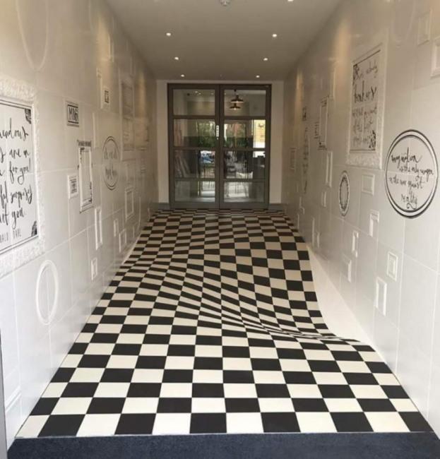 Підлога з приколами