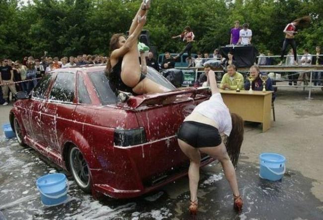 Конкурс миття машин