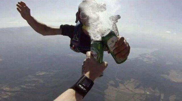Вип'ємо по банці пива у небі