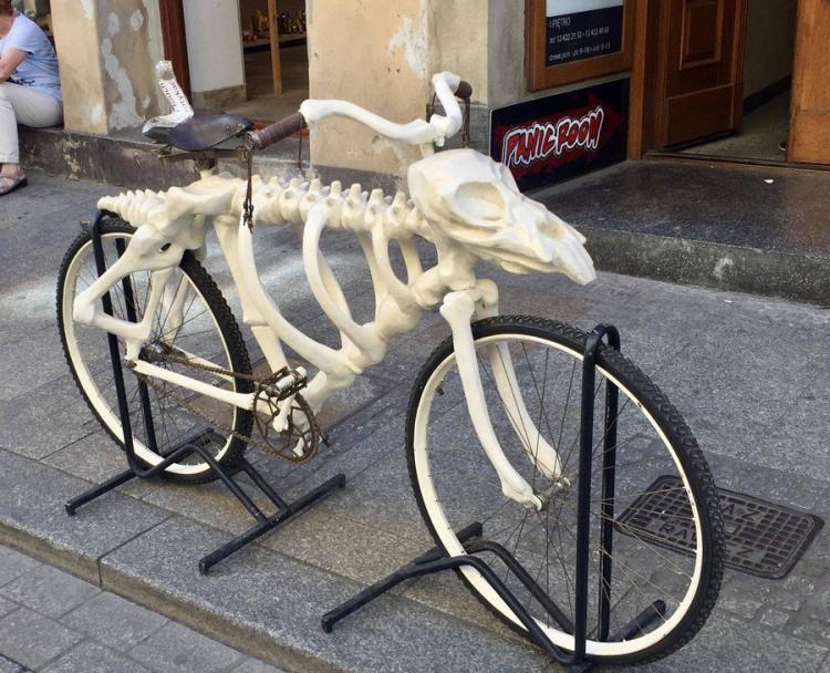 Найперший велосипед