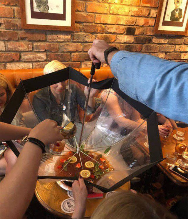 Фірмовий коктейль з парасольки