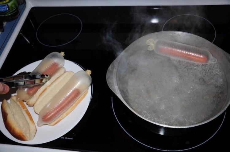 Новий метод приготування хот-догів