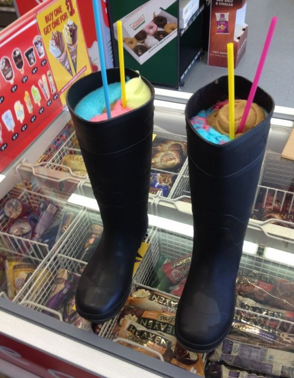 Морозиво в чоботях
