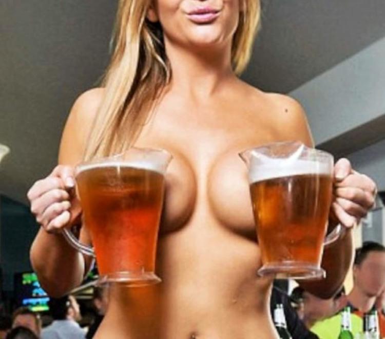 У нашому барі пиво подають тільки дівчата