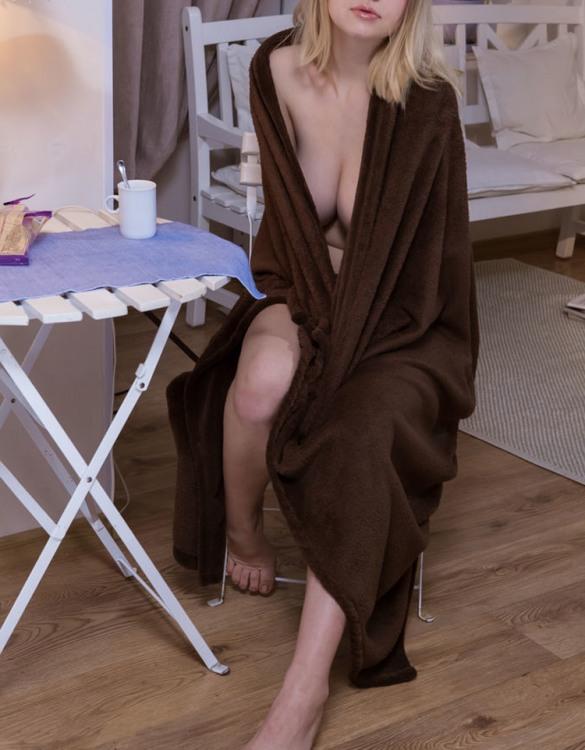 Еротичне чаювання після ванної