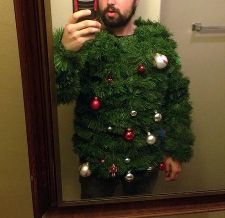 Новорічний светр