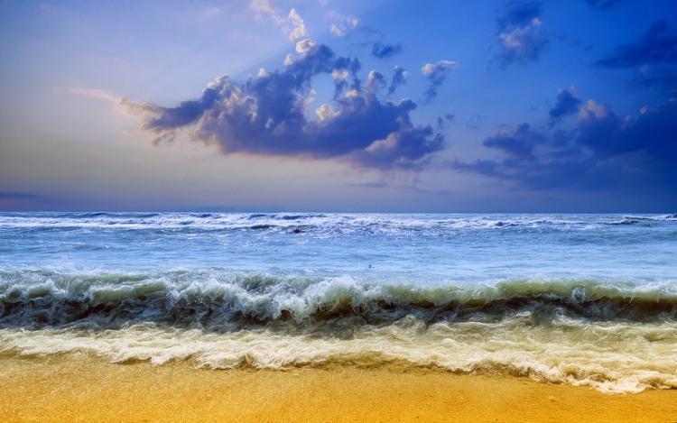 Жовтий пляж