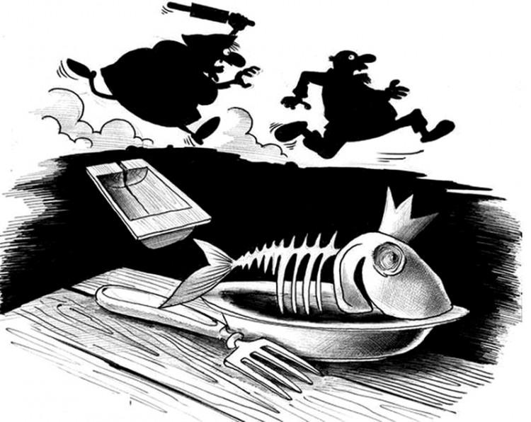 Золота рибка виконала одне бажання - вгамувала голод