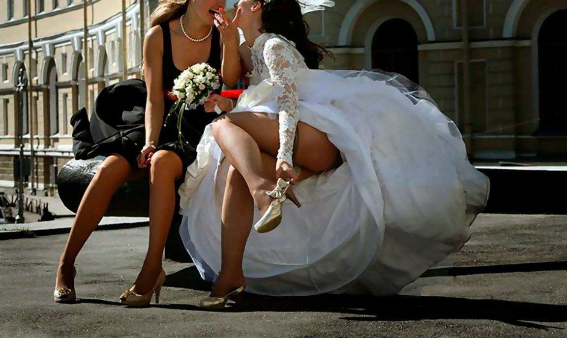 увидеть как невесты и их шалости широкоформатных видео