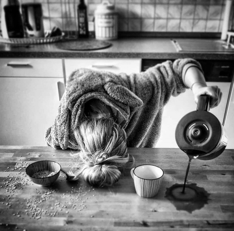 Відключилася не встигнувши налити кави
