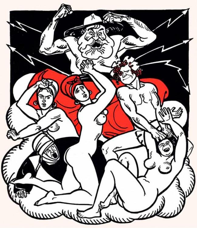Енеїда - Зевс розлютився