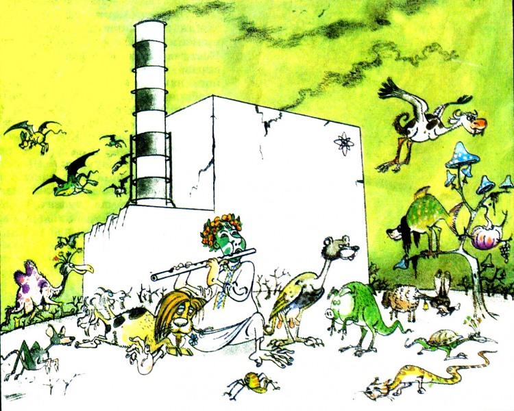 Чорнобильська флора і фауна