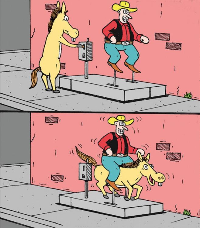 Карусель для коня