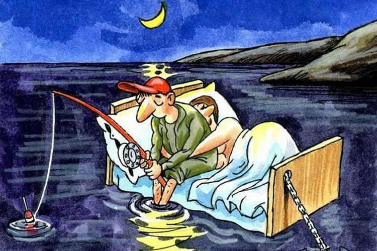 На риболовлю з дружиною