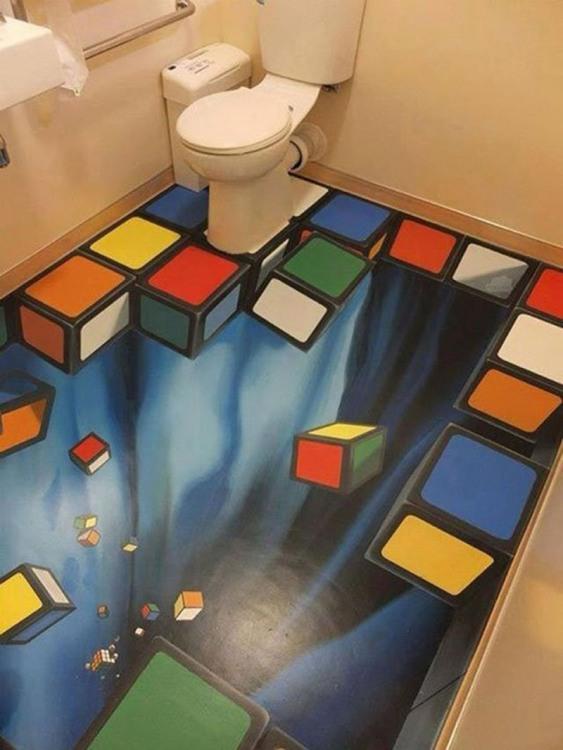 Підлога в туалеті