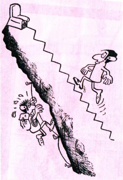 Різні шляхи кар'єрних сходів
