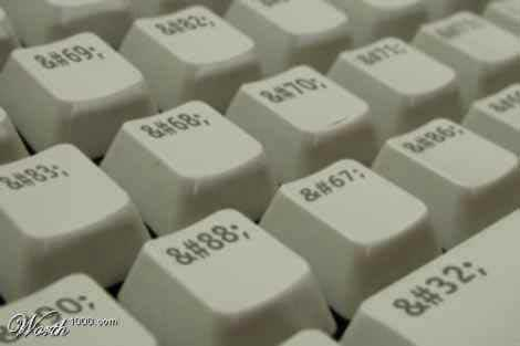 Клавіатура html розробника