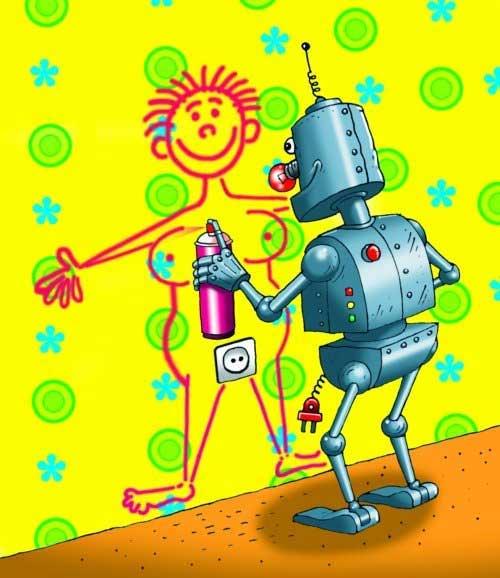 Робот маляр