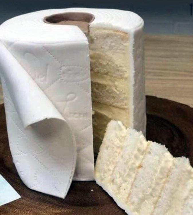 Торт - туалетний папір