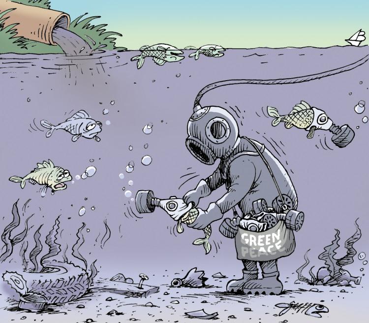 Грінпіс рятує рибу