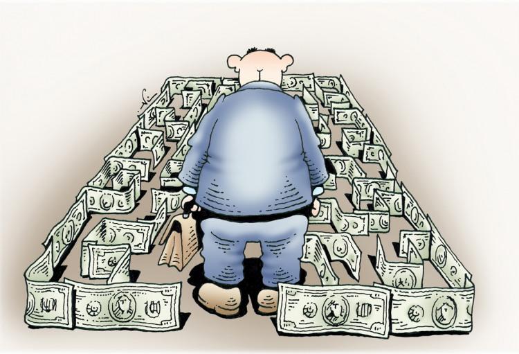 Лабіринт з грошей